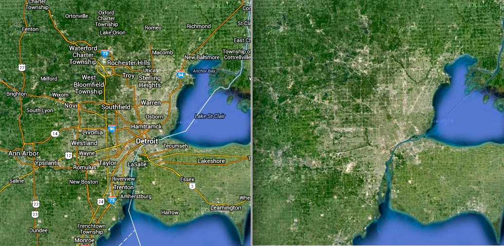 DETROIT, CITY DIVIDED | School of The Urban Organism